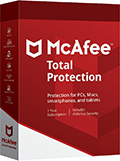Caja de McAfee Total Protection