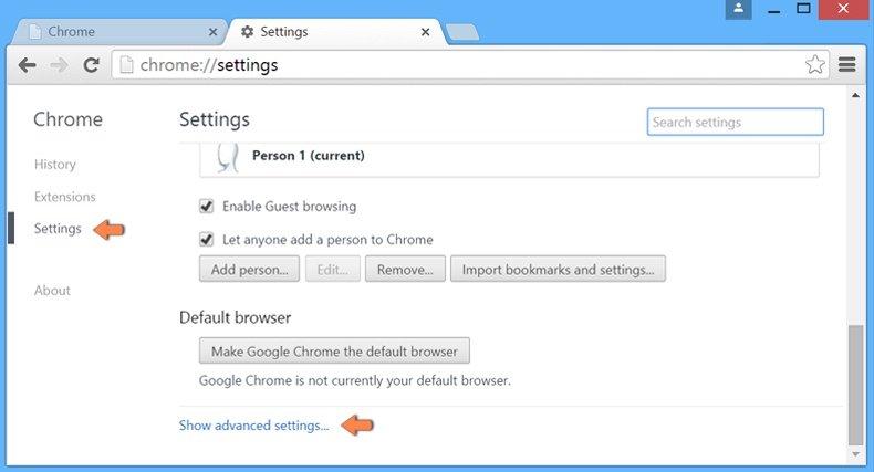 Cómo restablecer la configuración predeterminada de Google Chrome: cómo acceder a la configuración