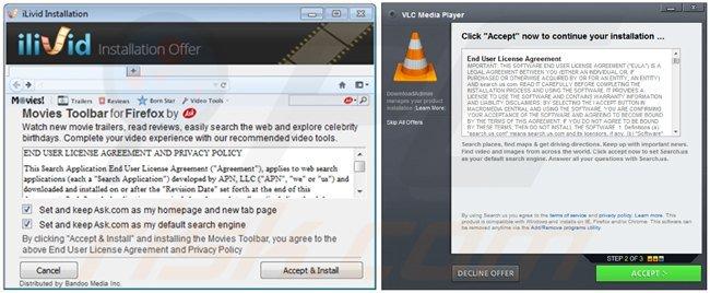 Gestores de descarga de programas gratuitos que distribuyen secuestradores de navegadores