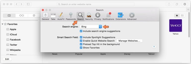 eliminar browser hijacker de Safari - 4