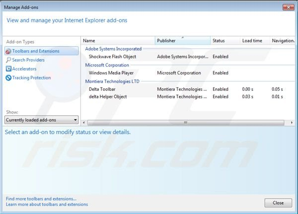 Eliminar BuenoSearch de Internet Explorer