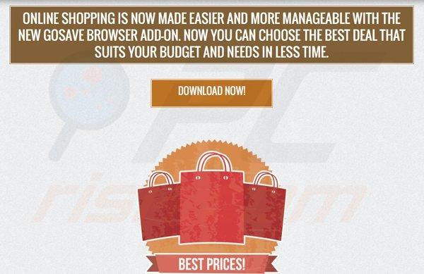 software publicitario de GoSave