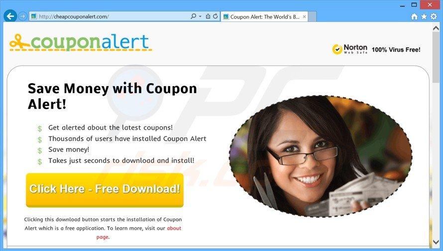como eliminar coupon alerts