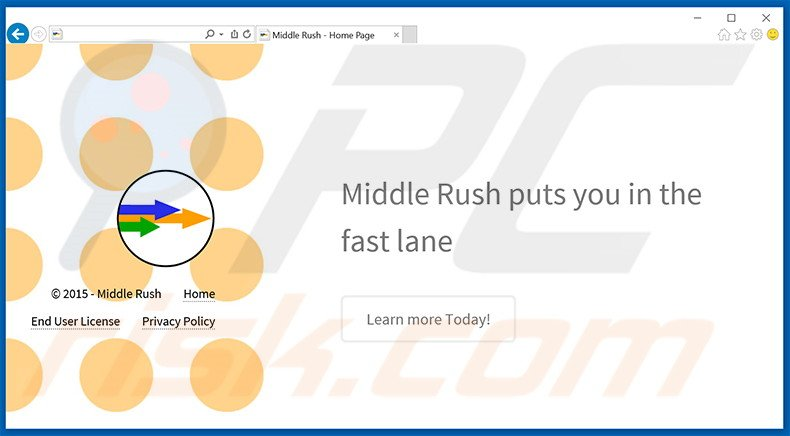 Middle Rush adware
