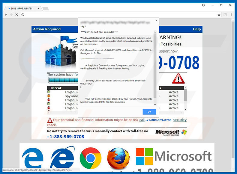 Call Microsoft Support adware