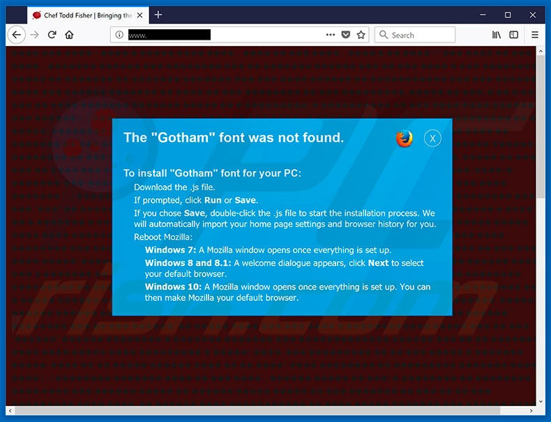 Download Cómo eliminar Estafa The Gotham Font Was Not Found POP-UP ...