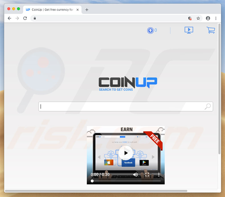 sitio web find.coinup.org